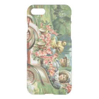 Children Easter Chick Vintage Car Floral iPhone 7 Case