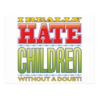 Children Hate Postcard