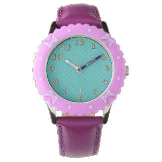 Children'-Hodge-Podge(c)_Design's_Aqua_Old Gold Watch