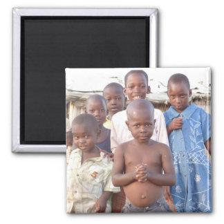 Children in Africa Magnet