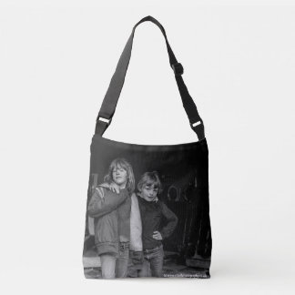 'Children in derelict' laundry photograph bag