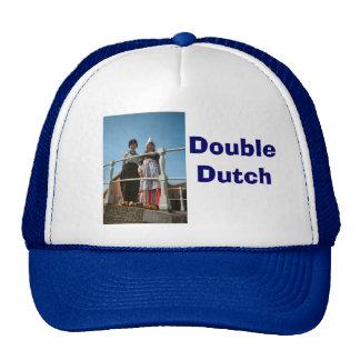 Children in Dutch National Costume Cap