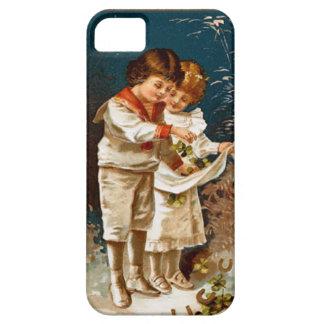 Children in white iPhone 5 cases
