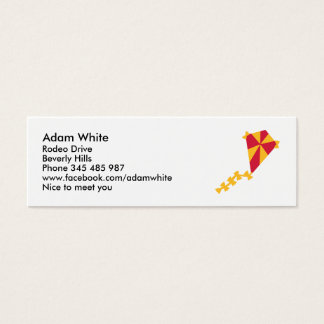 Children kite mini business card