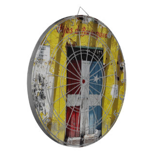 Children of borinquen Morning call with metallic Dartboard