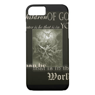 Children of God Overprint iPhone Case