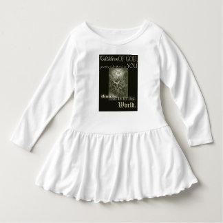 Children of God Toddler Long Sleeve Ruffle Dress