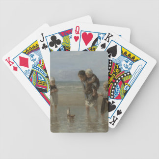 Children of the sea bicycle playing cards