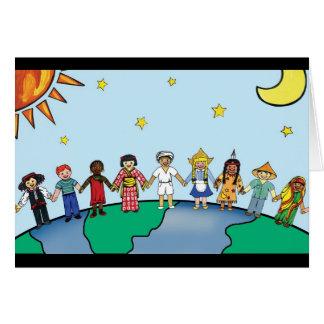Children of the World Card