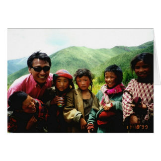 Children of Tibet Trust Foundation Greeting Card
