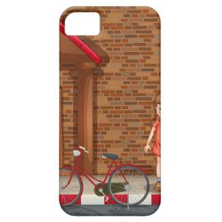 Children on street iPhone 5 case