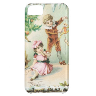 Children Playing on Christmas iPhone 5C Case
