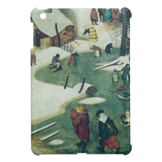 Children Playing on the Frozen River iPad Mini Cover