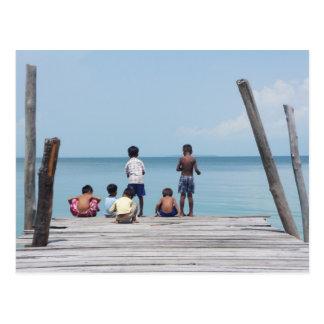 Children Postcard