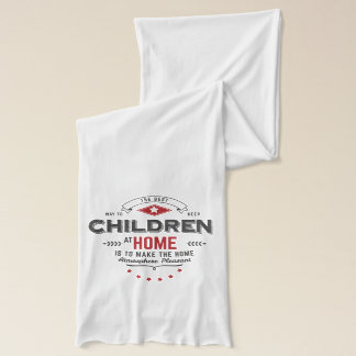 children quote scarf