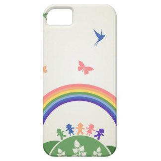 Children rainbow iPhone 5 cover