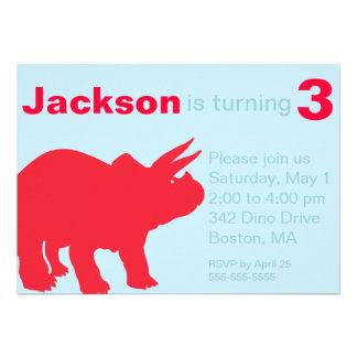 Children s Dinosaur Party Invitations