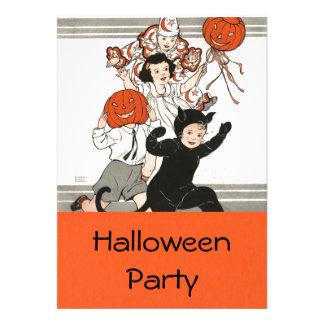 Children s Halloween Costume Party Custom Invitations