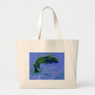 Children s Winning Artwork Bass Canvas Bag