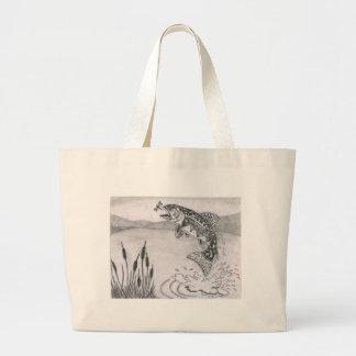 Children s Winning Artwork brook trout Bag