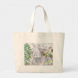 Children s Winning Artwork catfish Canvas Bag