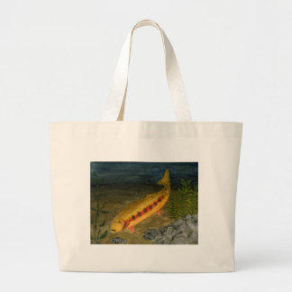 Children s Winning Artwork golden trout Bag