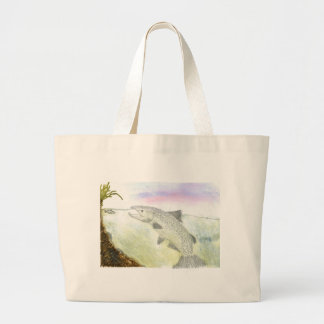 Children s Winning Artwork salmon Canvas Bag