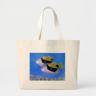 Children s Winning Artwork triggerfish Canvas Bag
