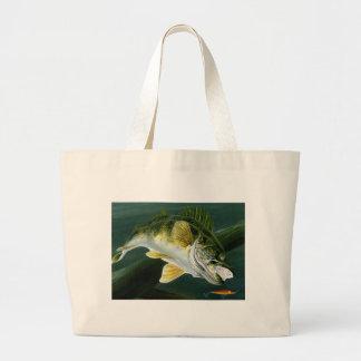 Children s Winning Artwork Walleye Tote Bags