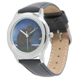 Children wrist-watch Black Cat Wristwatch