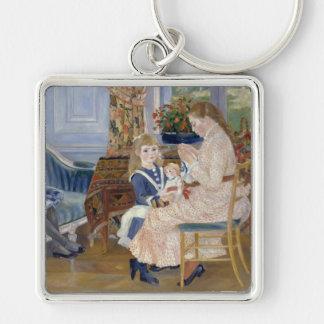 Children's Afternoon at Wargemont , Renoir Key Ring