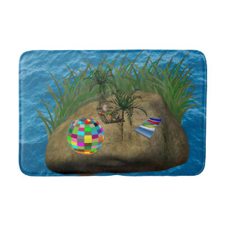 childrens bathroom beach bathmat