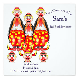 childrens birthday invitation cards
