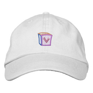 Childrens Block V Embroidered Hats