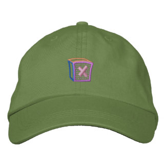 Childrens Block X Embroidered Hats