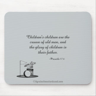 Children's children Father's Day Mouse Pad