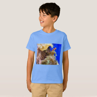 Children's clownfish shirt