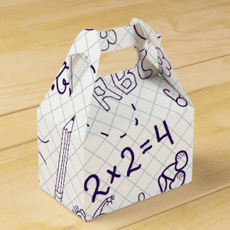 Children's Drawing Pattern Favour Box