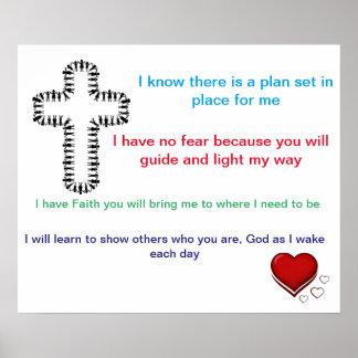 Children's Faith Poster