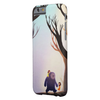"""Children's Fantasy Monster Art """"Right Friends"""" Barely There iPhone 6 Case"""