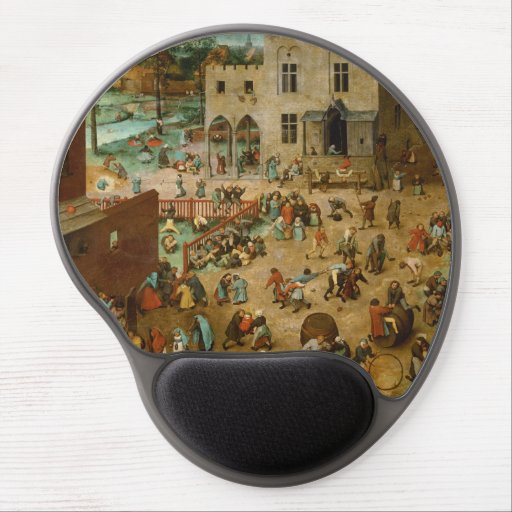 Childrens Games by Pieter Bruegel the Elder Gel Mouse Mat