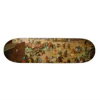Children's Games by Pieter Bruegel the Elder Skate Board