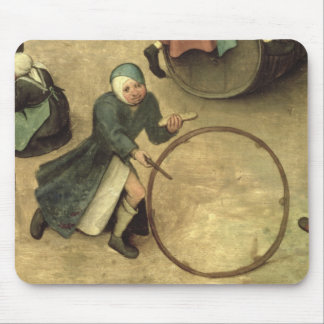 Children's Games : detail of a child with a Mousepads