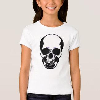 Children's Halloween Shirt - Pink Skull