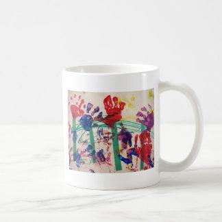 Children's handprint Garden Coffee Mug