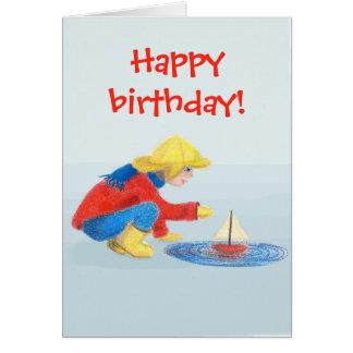 Children's Happy Birthday Card