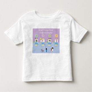 Children's Hospital Ward Customizable Toddler T-Shirt