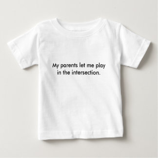 children's intersection shirt