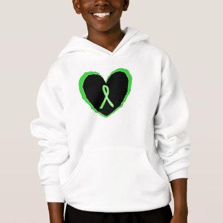 Children's Lyme Disease Awareness Ribbon in Heart