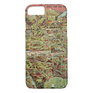Children's Map of the United States iPhone 7 Case